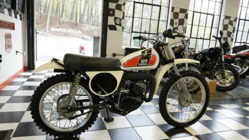 1974 Yamaha MX125 White, Red for sale craigslist