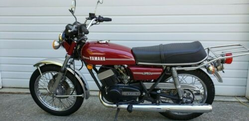 1974 Yamaha RD350 Purple for sale craigslist