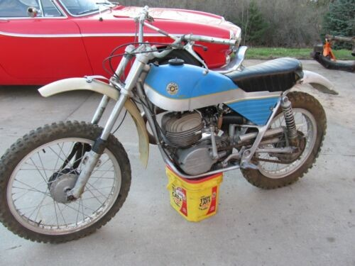 1975 Bultaco Alpina Blue for sale