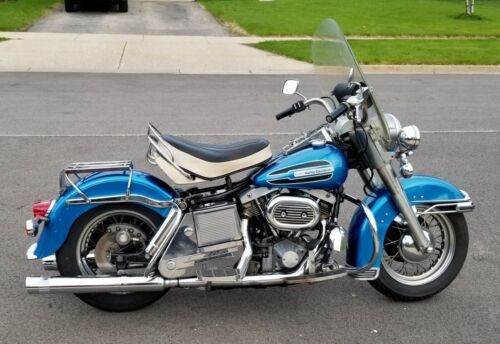 1975 Harley-Davidson FLH HI-Fi Blue for sale craigslist