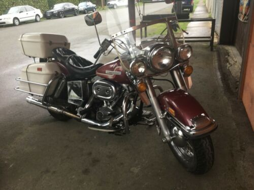 1975 Harley-Davidson Other Burgundy for sale craigslist