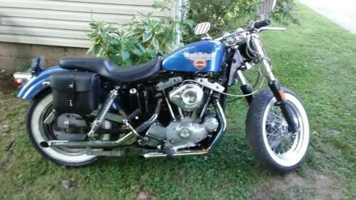 1975 Harley-Davidson Sportster Blue for sale