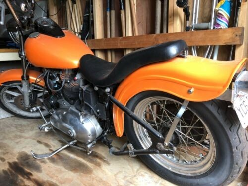 1975 Harley-Davidson Sportster Orange for sale craigslist