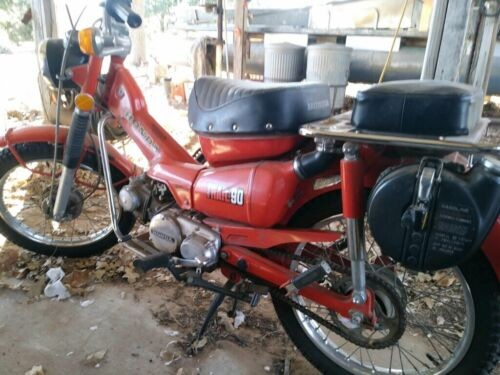 1975 Honda 1975 Honda Trail 90 Red for sale craigslist