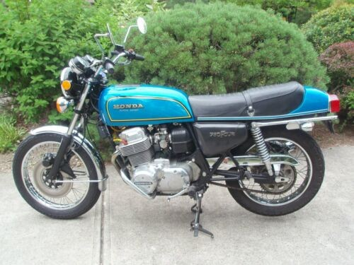 1975 Honda CB Blue for sale