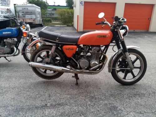1975 Honda CB Orange for sale craigslist
