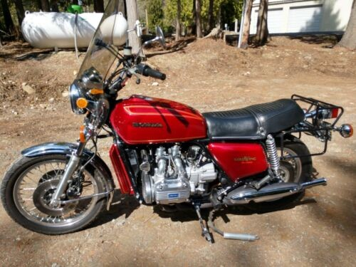 1975 Honda Gold Wing CANDY ANTARES RED for sale craigslist