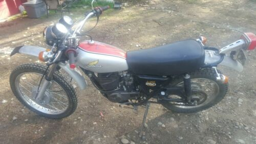 1975 Honda MT250 Silver and red craigslist