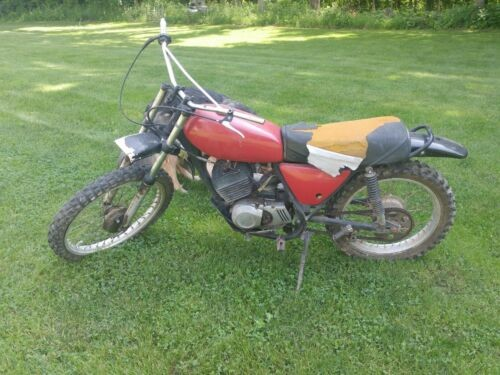 1975 Kawasaki KD 175 Red for sale