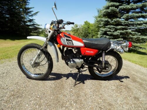 1975 Yamaha DT125 Red for sale craigslist