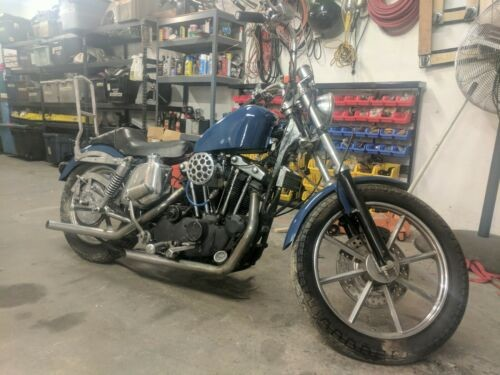 1976 Harley-Davidson Sportster Blue for sale