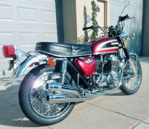 1976 Honda CB ANTARES RED for sale