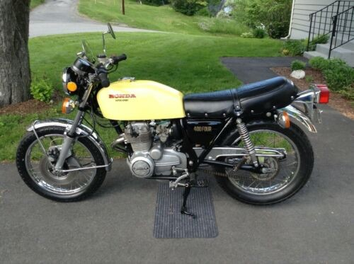 1976 Honda CB Yellow for sale craigslist