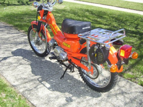 1976 Honda CT Orange craigslist