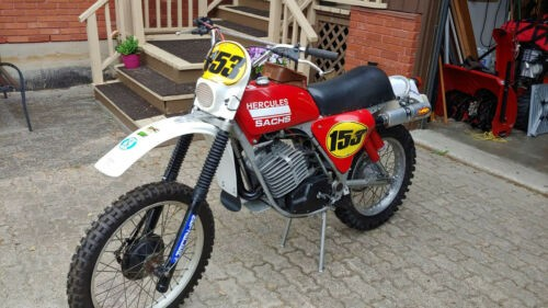 1976 Other Makes Hercules GS250-7A Red for sale