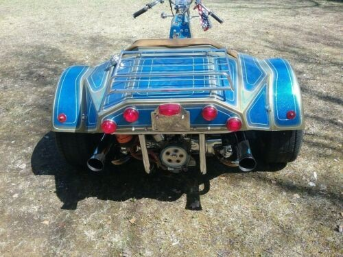 1977 Custom Built Motorcycles Wilmac trike Blue craigslist