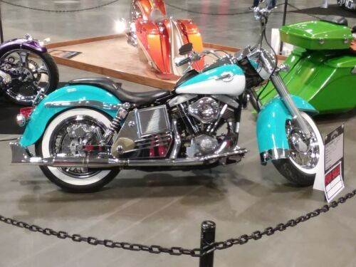 1977 Harley-Davidson Other Turquoise/White for sale