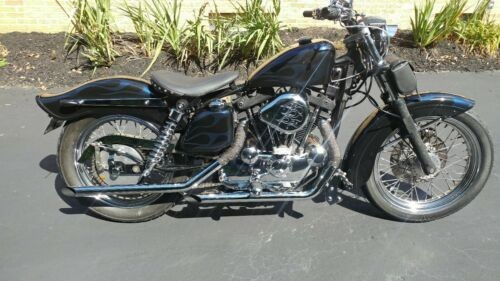1977 Harley-Davidson Sportster Blue for sale craigslist