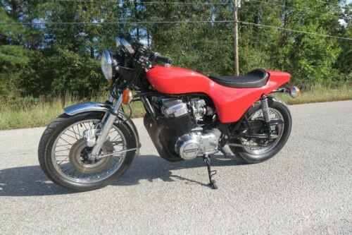 1977 Honda CB Red for sale craigslist