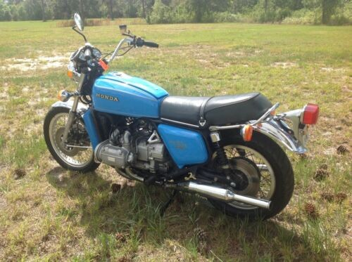 1977 Honda Gold Wing Blue for sale