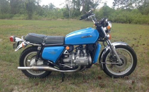 1977 Honda Gold Wing Blue for sale craigslist