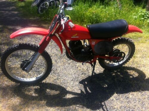 1977 Honda Honda CR125 Red for sale