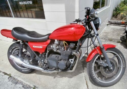 1977 Kawasaki KZ 1000 Red for sale craigslist