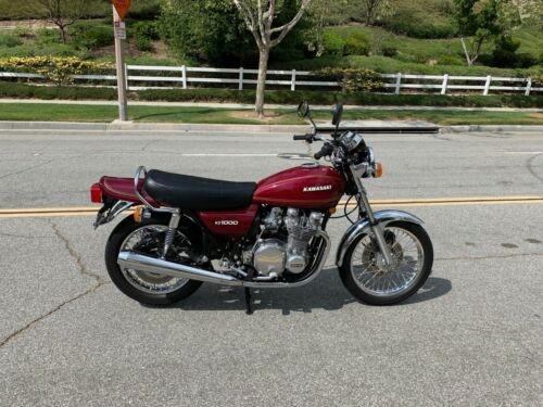 1977 Kawasaki Other Burgundy for sale craigslist