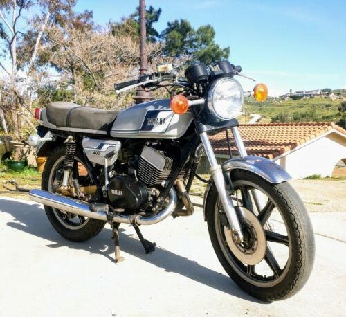 1977 Yamaha RD400 Gray for sale craigslist