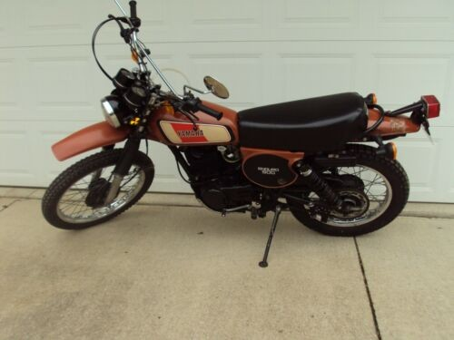 1977 Yamaha XT 500 Ginger Brown craigslist