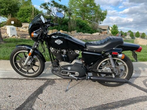 1978 Harley-Davidson Sportster Black for sale craigslist