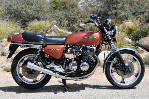 1978 Honda CB Sandcast Red/Orange for sale craigslist