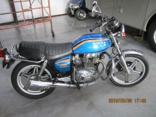 1978 Honda Hawk Blue for sale
