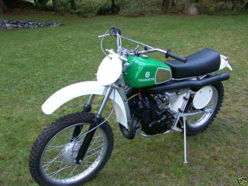 1978 Husqvarna 390 AMX Automatic MX Green for sale craigslist