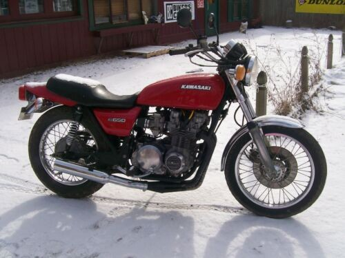 1978 Kawasaki KZ650 Red for sale craigslist