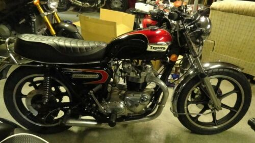 1978 Triumph Bonneville Black for sale craigslist
