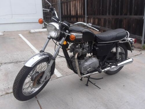 1978 Triumph Tiger Black for sale craigslist