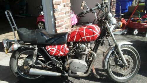 1978 Yamaha XS Red, White, and Black stripes craigslist