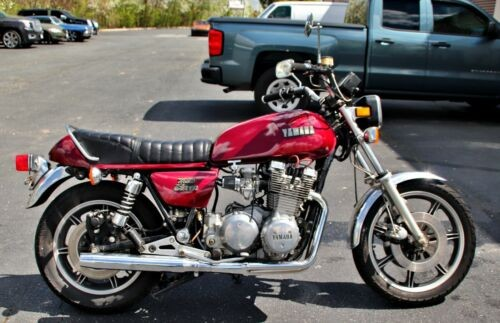 1978 Yamaha XS red for sale