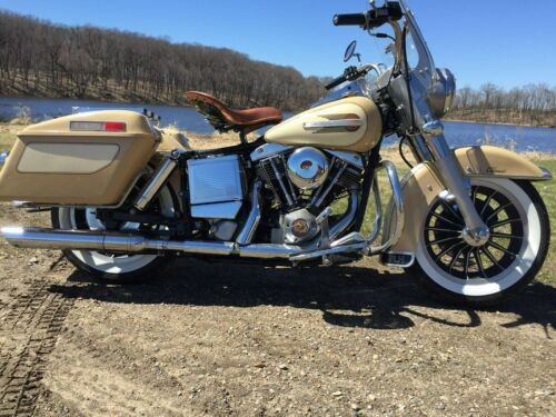 1979 Harley-Davidson FLH Classic Tan for sale