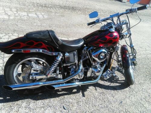 1979 Harley-Davidson FXS Lowrider Black and Red/Burgundy Flame for sale craigslist