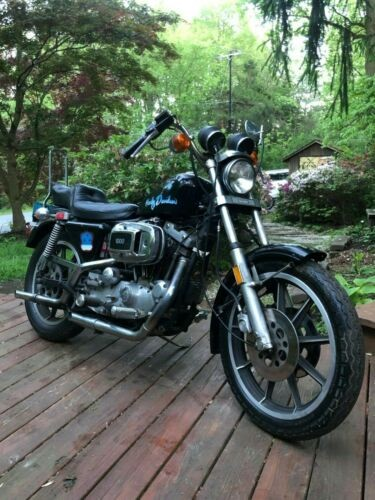 1979 Harley-Davidson Sportster Black for sale