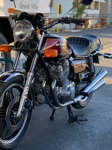 1979 Honda CB-750K Burgundy for sale craigslist