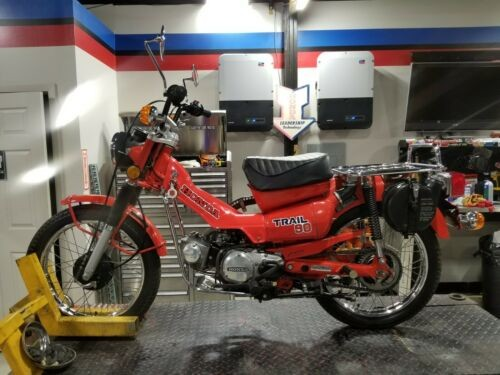 1979 Honda CT90 Tahitian Red for sale