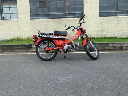 1979 Honda Honda Red for sale craigslist