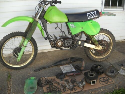 1979 Kawasaki KX Green for sale craigslist