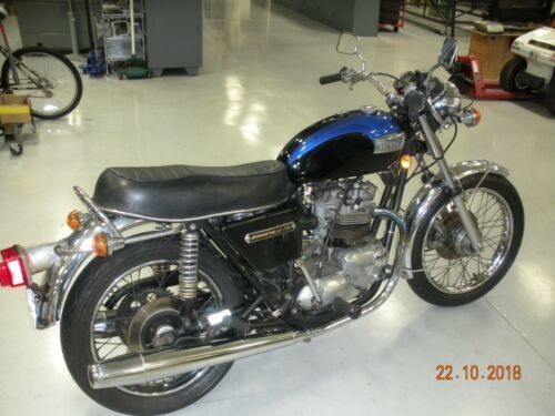 1979 Triumph Bonneville Black, Blue for sale