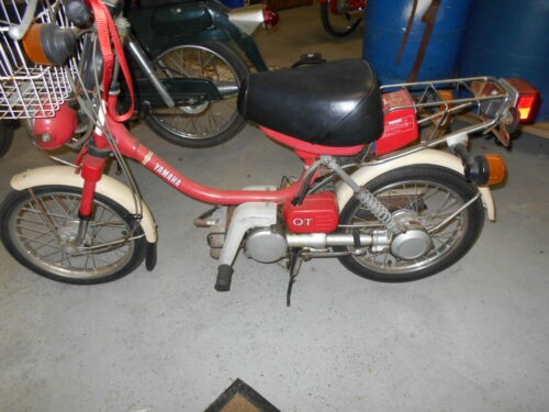 1979 Yamaha QT - MoPed Red / White for sale craigslist