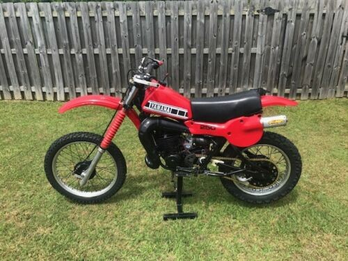 1979 Yamaha YZ Red/Black craigslist
