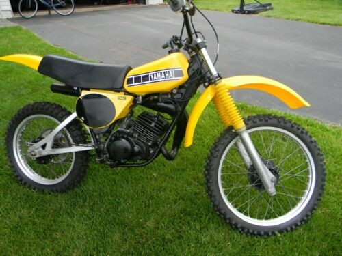 1979 Yamaha YZ Yellow for sale craigslist